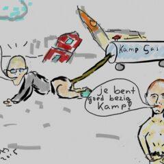 Kamp gas