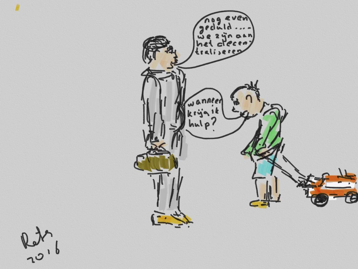 Decentralisatie jeugdzorg