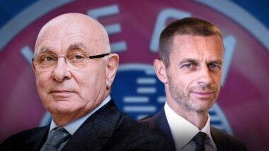 geleuter bij de UEFA