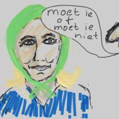 Marine le Pen hoofddoek