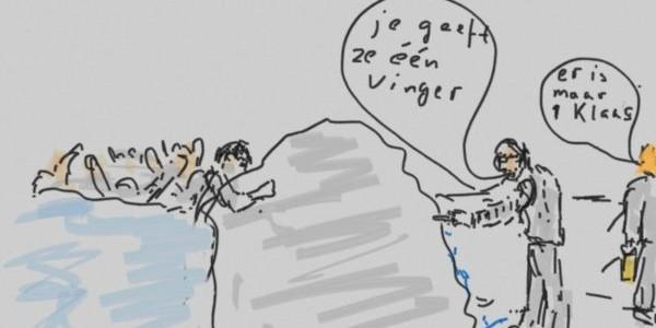 Dijkhoff verkoopt extreme ideeën blijkt kat in de zak