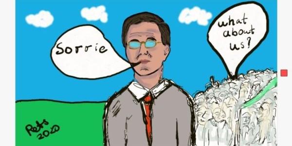 Excuses premier Rutte