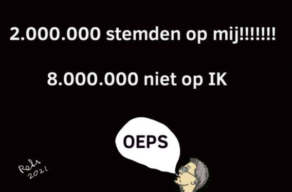 Voorkeurstemmen Rutte